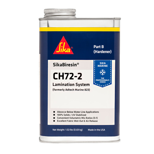 Sika SikaBiresin CH72-2 Medium Cure - Pale Amber - Quart [607407]