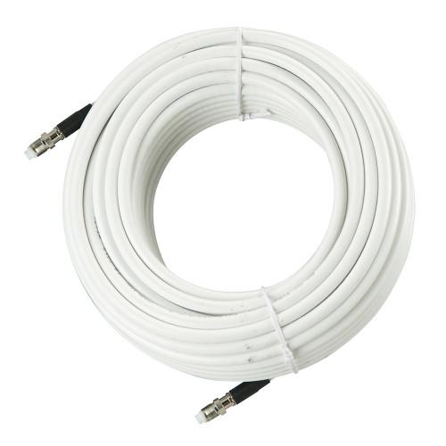 Glomex 24M - 78 RG-8X Coax f\/Glomeasy VHF Antennas - White [RA350\/24FME]