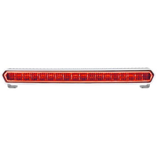 "RIGID Industries SR-L Series Marine 20"" White LED Lightbar - White Light w\/Red Halo [62002]"