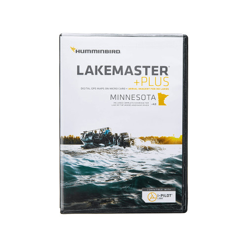 Humminbird LakeMaster Plus Minnesota V4 w\/Lake of the Woods  Rainy River [600021-10]