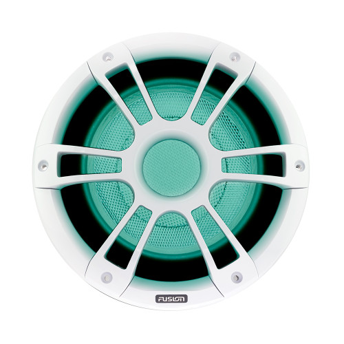 """FUSION SG-SL122SPW Signature Series 3 - 12"""" Subwoofer - White Sports Grille [010-02436-10]"""