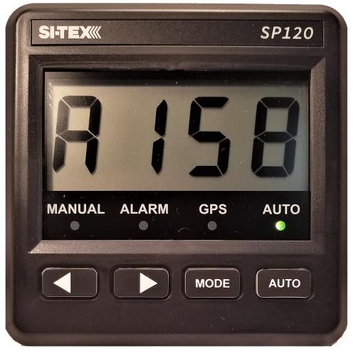 SI-TEX SP-120 System w\/Rudder Feedback  9CI Pump [SP120RF-2]