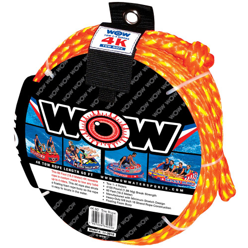 WOW Watersports 4K- 60 Tow Rope [11-3010]