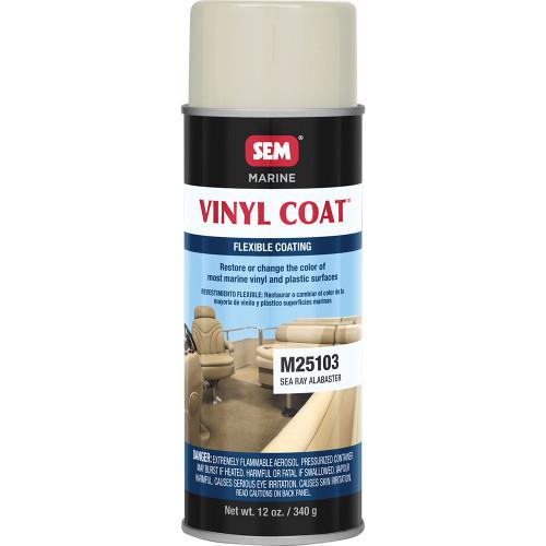 SEM Vinyl Coat - Sea Ray Alabaster - 12oz [M25103]