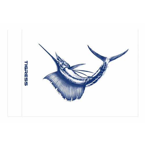 "Tigress Sailfish Release Flag - 12"" x 18"" [88420]"