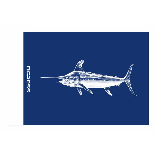 "Tigress Blue Marlin Release Flag - 12"" x 18"" [88422]"