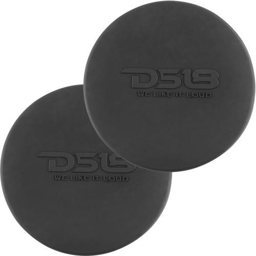 """DS18 Silicone Marine Speaker Cover f\/6.5"""" Speakers - Black [CS-6B]"""