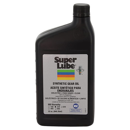Super Lube Synthetic Gear Oil IOS 220 - 1qt [54200]