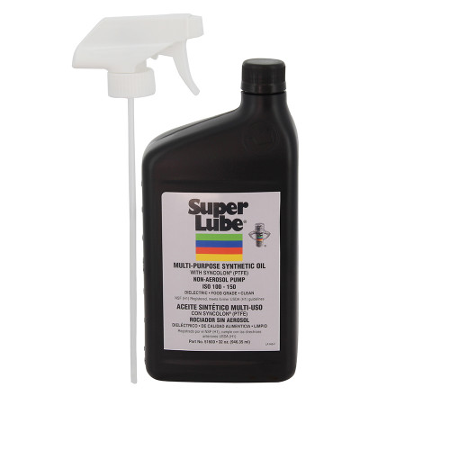 Super Lube Food Grade Synthetic Oil - 1qt Trigger Sprayer [51600]