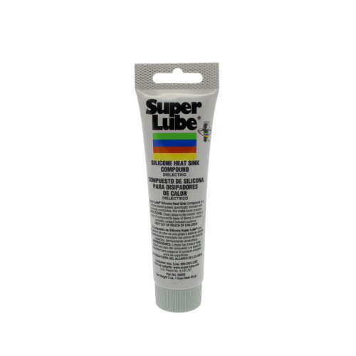 Super Lube Silicone Heat Sink Compound - 3oz Tube [98003]