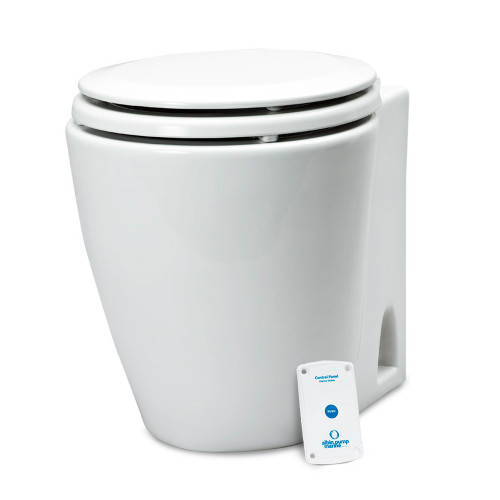 Albin Pump Marine Design Marine Toilet Standard Electric - 12V [07-02-043]