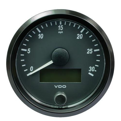 "VDO SingleViu 80mm (3-1\/8"") Speedometer - 30 MPH [A2C3832880030]"