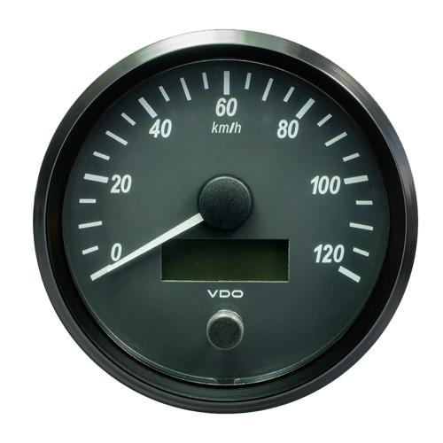 "VDO SingleViu 100mm (4"") Speedometer - 120 KM\/H [A2C3832860030]"