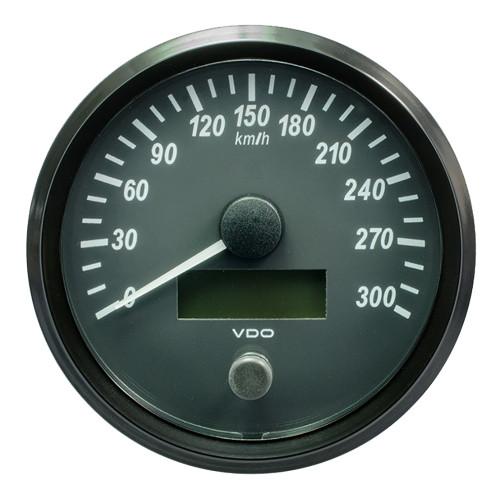 "VDO SingleViu 100mm (4"") Speedometer - 300 KM\/H [A2C3832830030]"