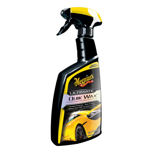 Meguiars Ultimate Quik Wax  Increased Gloss, Shine  Protection w\/Ultimate Quik Wax - 24oz [G200924]