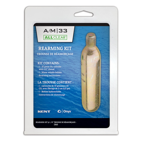 Onyx Rearming Kit f\/33 Gram A\/M All Clear Vests [136300-701-999-19]
