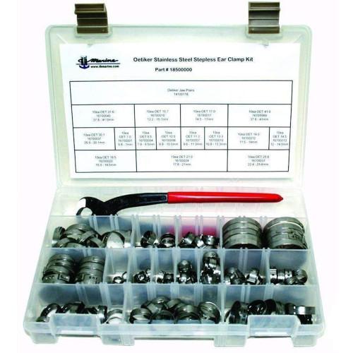 T-H Marine Oetiker Stepless Clamp Kit w\/Pliers [18500000]