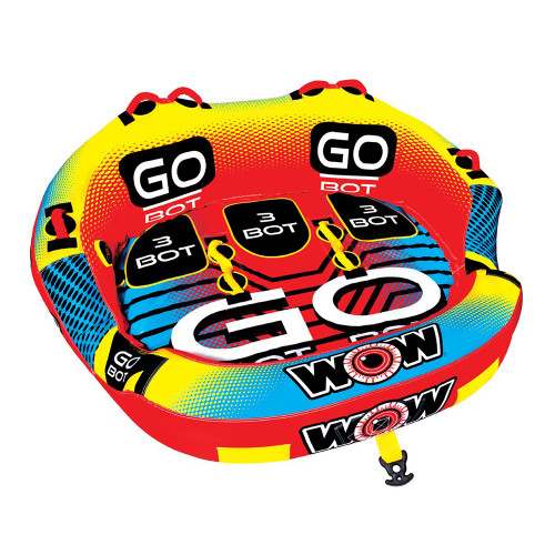 WOW Watersports Go Bot 3P Towable - 3 Person [18-1050]