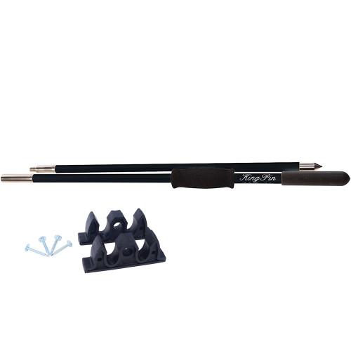 Panther 10 King Pin Anchor Pole - 2-Piece - Black [KPP100B]