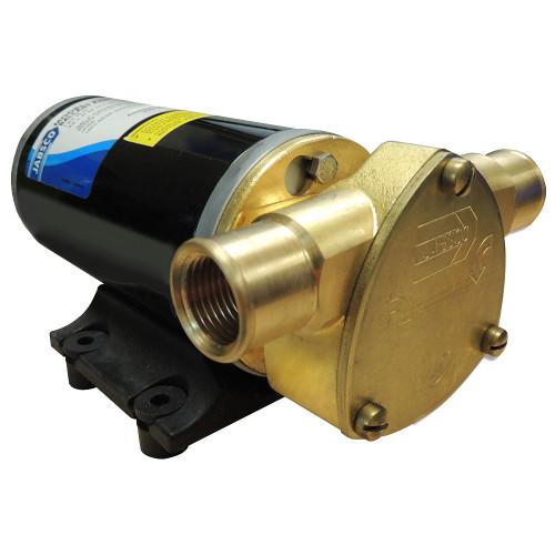 Jabsco Ballast King Bronze DC Pump with Deutsch Connector - No Reversing Switch - 15 GPM [22610-9427]