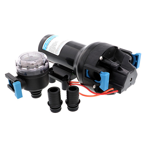 Jabsco Par-Max HD6 Heavy Duty Water Pressure Pump - 12V - 6 GPM - 40 PSI [P601J-215S-3A]