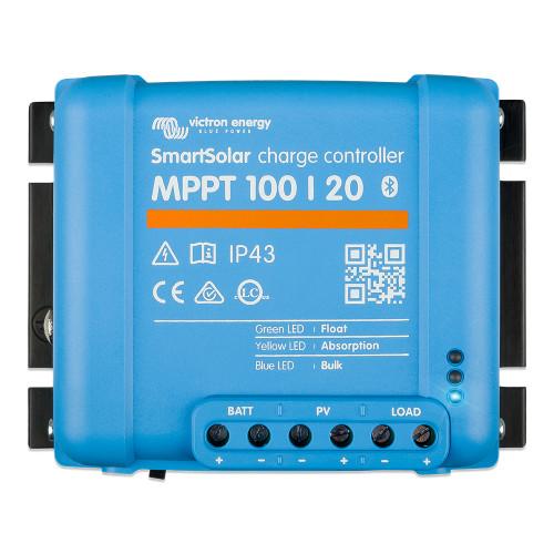 Victron SmartSolar MPPT 100\/20 - Up to 48 VDC [SCC110020160R]