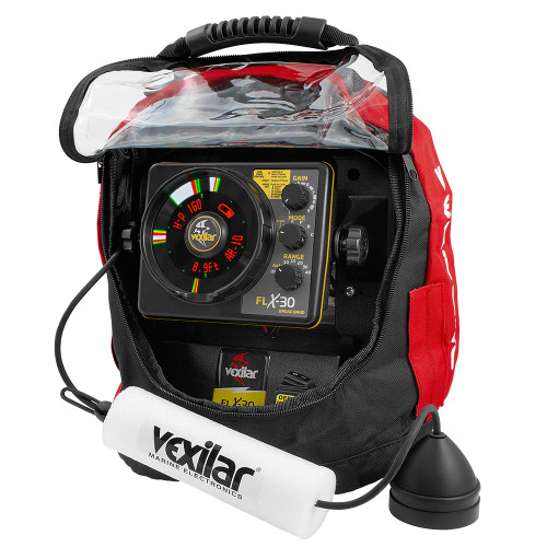 Vexilar UP30PV Ultra Pack Combo w\/Broadband Transducer, Lithium Ion Battery  Charger [UPLI30BB]