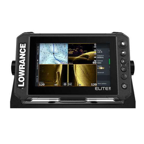 Lowrance Elite FS 7 Chartplotter\/Fishfinder with HDI Transom Mount Transducer [000-15696-001]