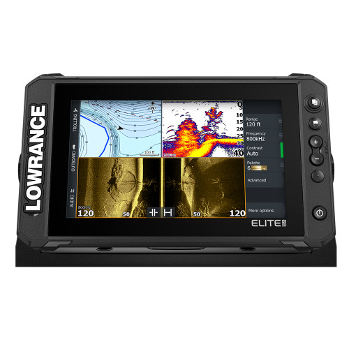 Lowrance Elite FS 9 Chartplotter\/Fishfinder - No Transducer [000-15707-001]