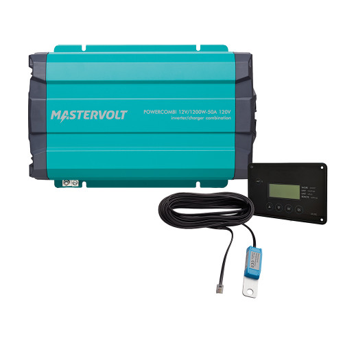 Mastervolt PowerCombi Pure Sine Wave Inverter\/Charger - 1200W - 12V - 50A Kit [36211201]