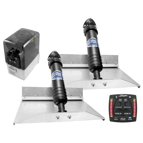 Bennett Marine 12x9 Hydraulic Trim Tab System w\/One Box Indication [129OBI]