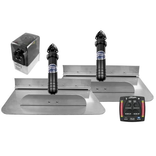 Bennett Marine 18x12 Hydraulic Trim Tab System w\/One Box Indication [1812OBI]