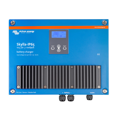 Victron Skylla-IP65 12\/70 1+1 120-240VAC Battery Charger [SKY012070000]