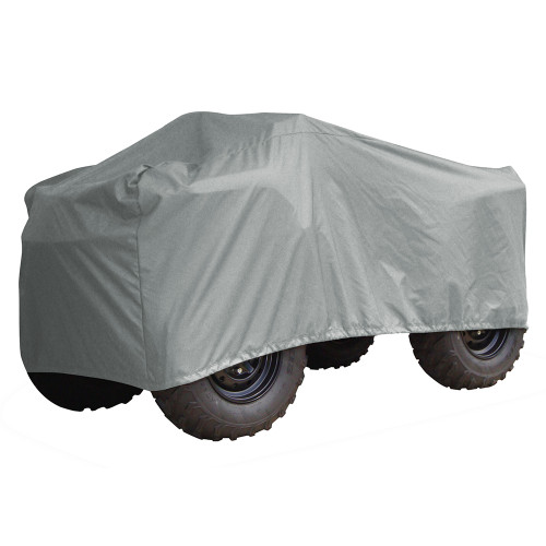 Carver Performance Poly-Guard Large ATV Cover - Grey [2002P-10]