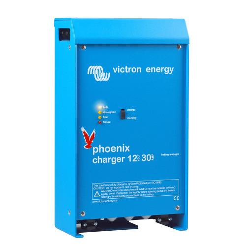 Victron Phoenix Charger - 12V - 30A (2+1) - 120-240VAC [PCH012030001]