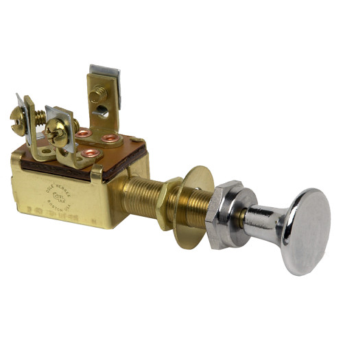 Cole Hersee Push-Pull Switch DPTT 3-Position Off-On-On [M-476-BP]