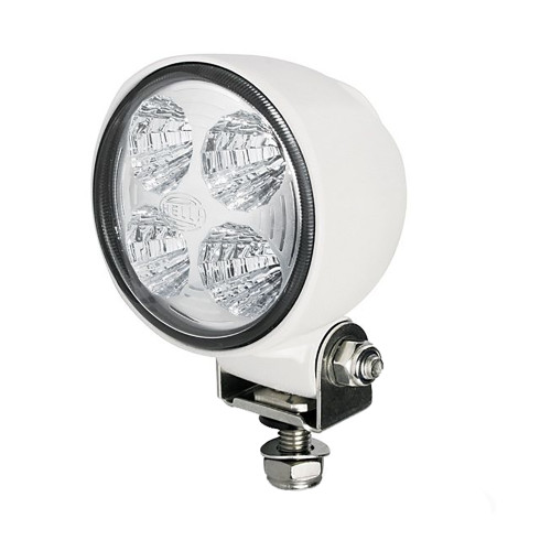 Hella Marine Module 70 Gen 3 LED Floodlight - White Housing - Long Range - 800 Lumens [996276471]