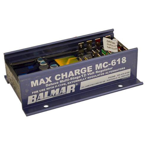 Balmar Max Charge MC618 Multi-Stage Regulator w\/o Harness - 12V [MC-618]