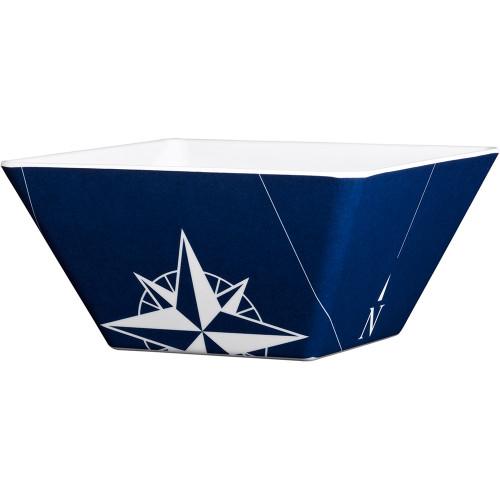 Marine Business Melamine Square Bowl - NORTHWIND - Set of 6 [15022C]