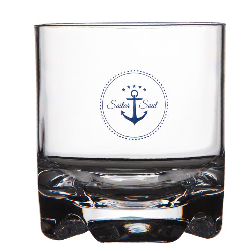 Marine Business Stemless Water\/Wine Glass - SAILOR SOUL - Set of 6 [14106C]