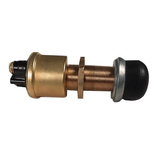 Raritan Heavy-Duty Push Button Switch - Brass [164000BR]