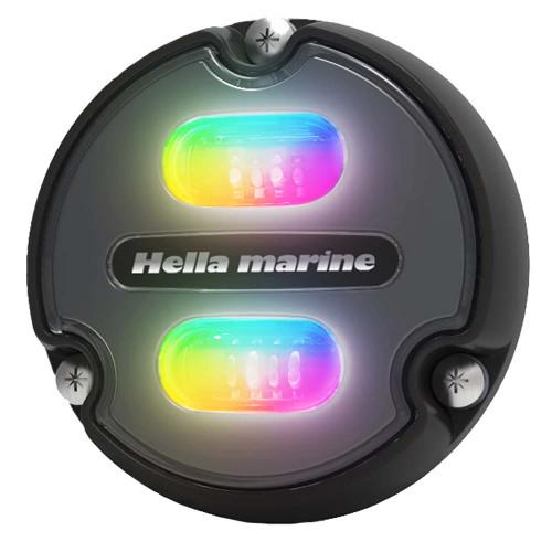 Hella Marine Apelo A1 RGB Underwater Light - 1800 Lumens - Black Housing - Charcoal Lens [016146-001]