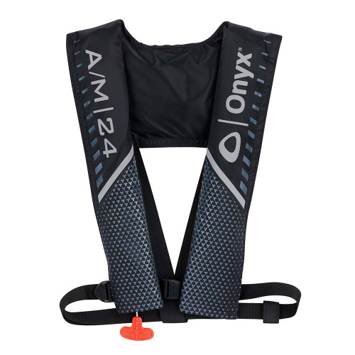 Onyx A\/M 24 Automatic\/Manual Inflatable PFD - Black [132000-700-004-21]