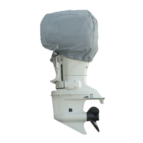 "Carver Poly-Flex II 150 HP Universal Motor Cover - 31""L x 29""H x 18""W - Grey [70005F-10]"