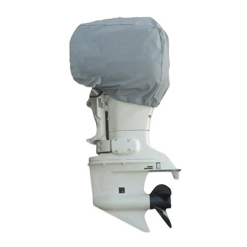 "Carver Poly-Flex II 25 HP Universal Motor Cover - 30""L x 40""H x 24""W - Grey [70009F-10]"