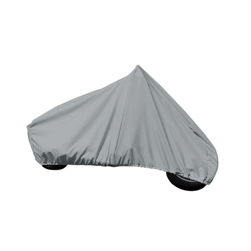 """Carver Sun-DURA Cover f\/Full Dress Touring Motorcycle w\/Up to 15"""" Windshield - Grey [9003S-11]"""
