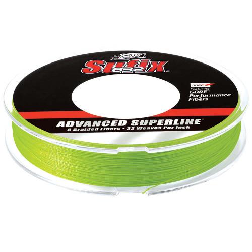 Sufix 832 Advanced Superline Braid - 15lb - Neon Lime - 150 yds [660-015L]