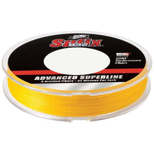Sufix 832 Advanced Superline Braid - 15lb - Hi-Vis Yellow - 150 yds [660-015Y]