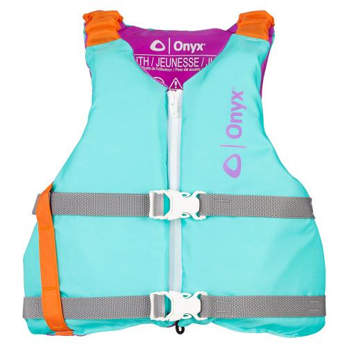 Onyx Youth Universal Paddle Vest - Aqua [121900-505-002-21]