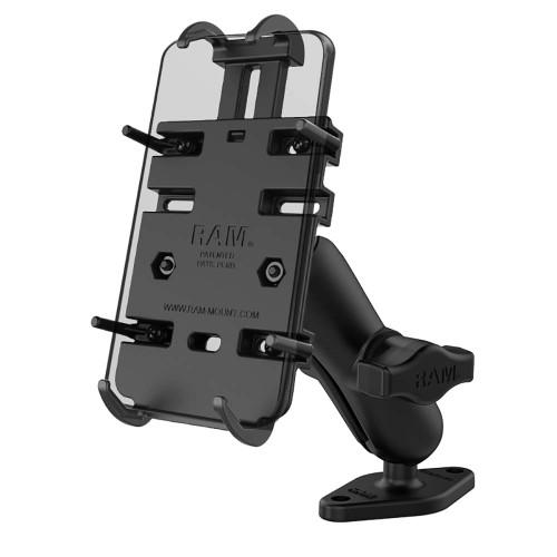 RAM Mount RAM Quick-Grip Phone Mount w\/Diamond Base [RAM-B-102-PD3U]